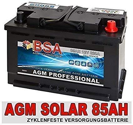 AGM 85Ah GEL Versorgungsbatterie