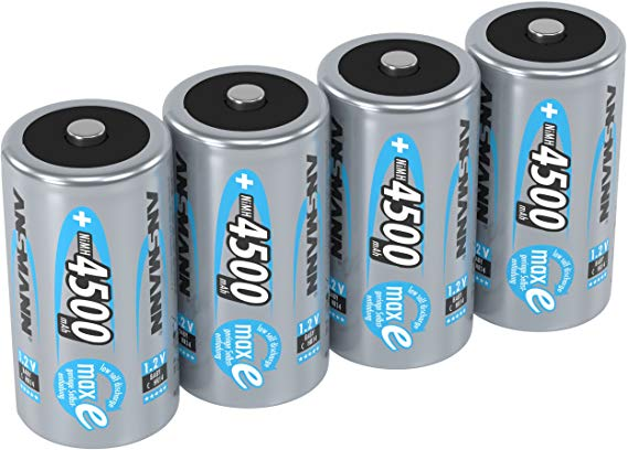Ansmann Akku Batterien Baby C