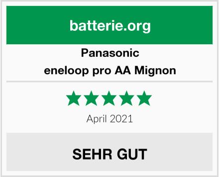 Panasonic eneloop pro AA Mignon Test