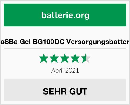 BaSBa Gel BG100DC Versorgungsbatterie Test