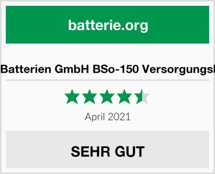 BaSBa Batterien GmbH BSo-150 Versorgungsbatterie Test