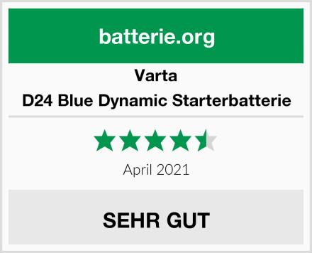 Varta D24 Blue Dynamic Starterbatterie Test