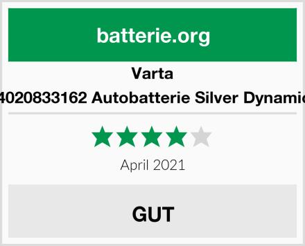 Varta 6004020833162 Autobatterie Silver Dynamic H3 Test