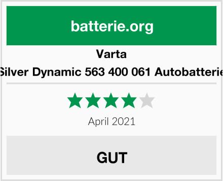 Varta Silver Dynamic 563 400 061 Autobatterie Test