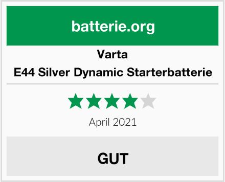 Varta E44 Silver Dynamic Starterbatterie Test