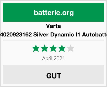 Varta 6104020923162 Silver Dynamic I1 Autobatterie Test