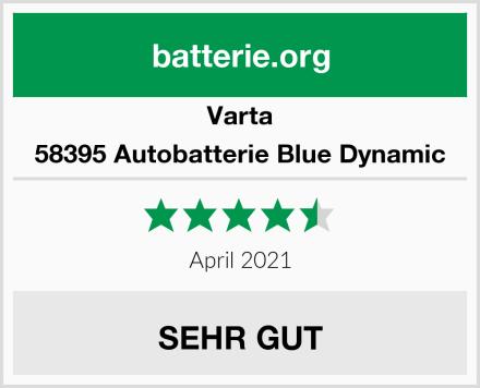 Varta 58395 Autobatterie Blue Dynamic Test