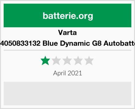 Varta 5954050833132 Blue Dynamic G8 Autobatterie Test