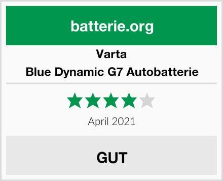 Varta Blue Dynamic G7 Autobatterie Test
