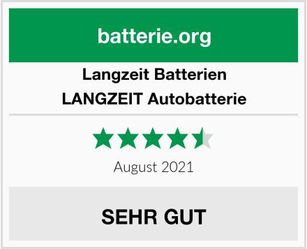 Langzeit Batterien LANGZEIT Autobatterie Test