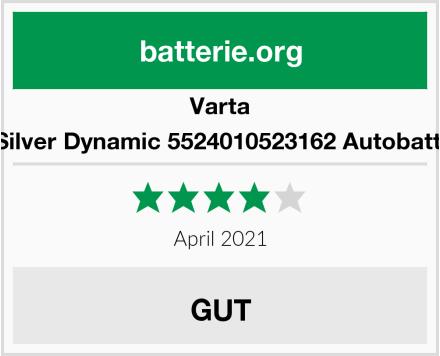 Varta C6 Silver Dynamic 5524010523162 Autobatterie Test