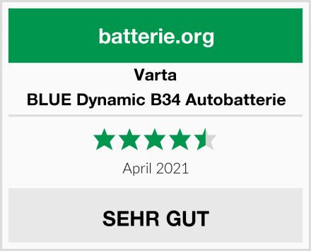 Varta BLUE Dynamic B34 Autobatterie Test