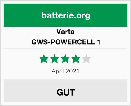 Varta GWS-POWERCELL 1 Test