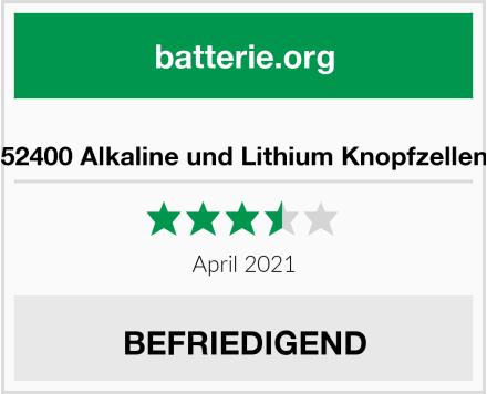 Arcas 12752400 Alkaline und Lithium Knopfzellensortiment Test