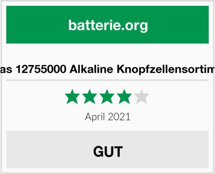 Arcas 12755000 Alkaline Knopfzellensortiment Test