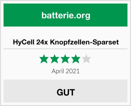 HyCell 24x Knopfzellen-Sparset Test