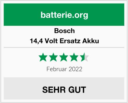 Bosch 14,4 Volt Ersatz Akku Test
