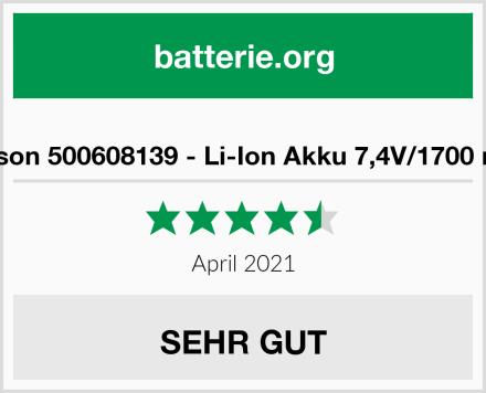 Carson 500608139 - Li-Ion Akku 7,4V/1700 mAh Test