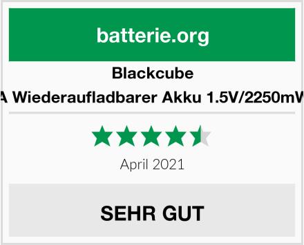 Blackcube AA Wiederaufladbarer Akku 1.5V/2250mWh Test