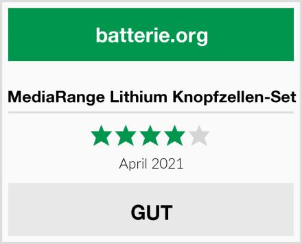 MediaRange Lithium Knopfzellen-Set Test