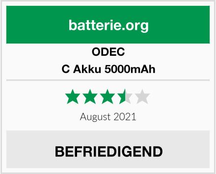 ODEC C Akku 5000mAh Test