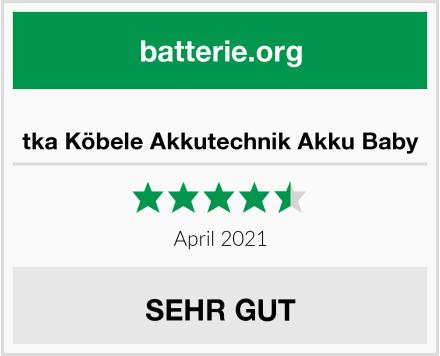 No Name tka Köbele Akkutechnik Akku Baby: Test