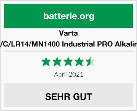 Varta 4014 Baby/C/LR14/MN1400 Industrial PRO Alkaline Batterie Test