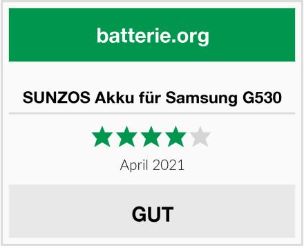 SUNZOS Akku für Samsung G530 Test