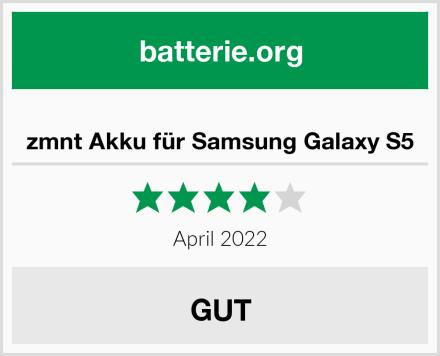 zmnt Akku für Samsung Galaxy S5 Test