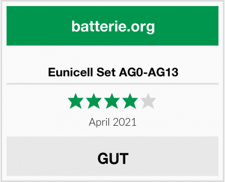 Eunicell Set AG0-AG13 Test