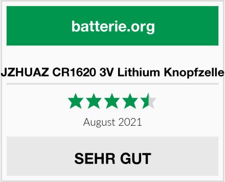 JZHUAZ CR1620 3V Lithium Knopfzelle Test
