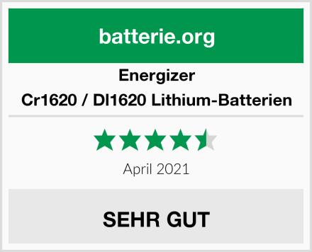 Energizer Cr1620 / Dl1620 Lithium-Batterien Test