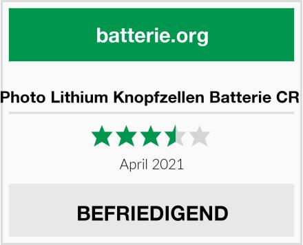 No Name AgfaPhoto Lithium Knopfzellen Batterie CR 1620 Test