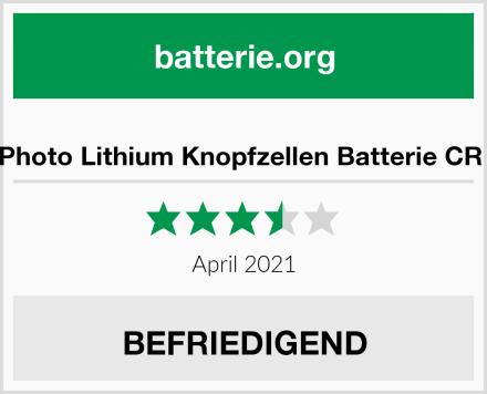 AgfaPhoto Lithium Knopfzellen Batterie CR 1620 Test