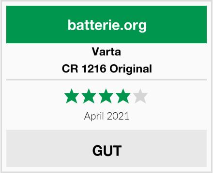 Varta CR 1216 Original Test