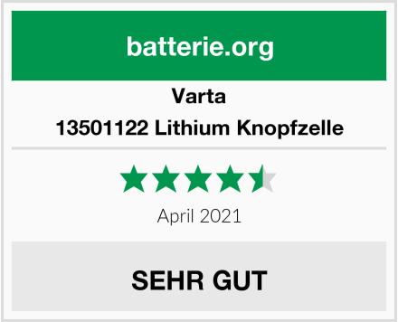 Varta 13501122 Lithium Knopfzelle Test