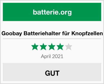 Goobay Batteriehalter für Knopfzellen Test