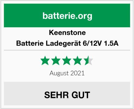 Keenstone Batterie Ladegerät 6/12V 1.5A Test
