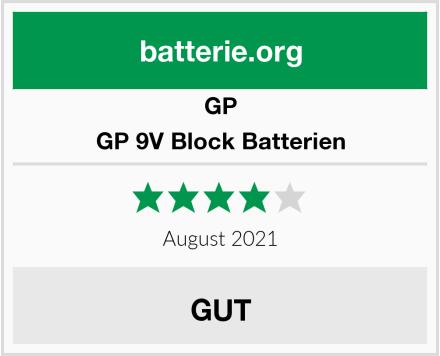 GP GP 9V Block Batterien Test
