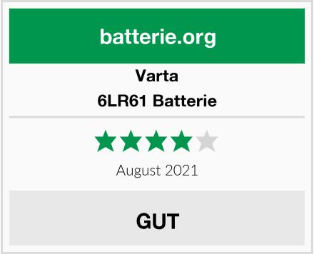 Varta 6LR61 Batterie Test