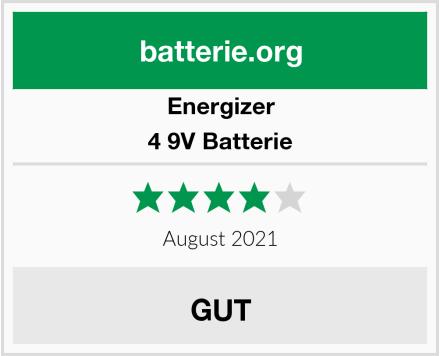 Energizer 4 9V Batterie Test