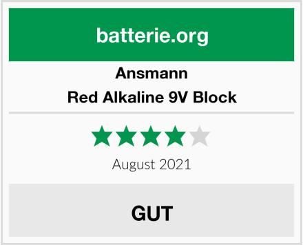 Ansmann Red Alkaline 9V Block Test