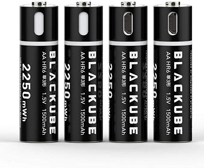 Blackcube AA Lithium-Batterie