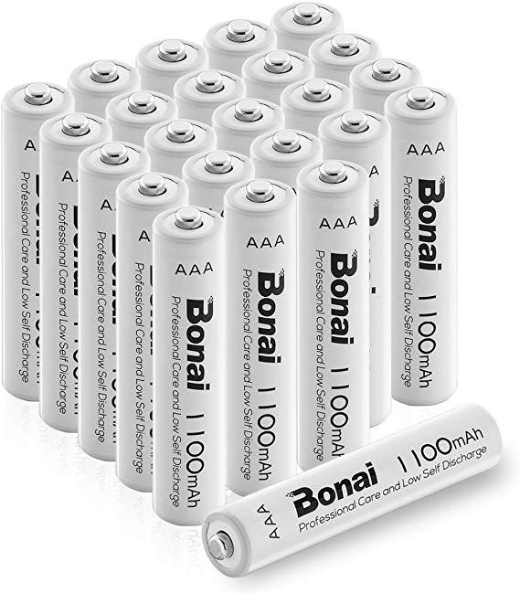 Bonai Wiederaufladbare AAA Batterien