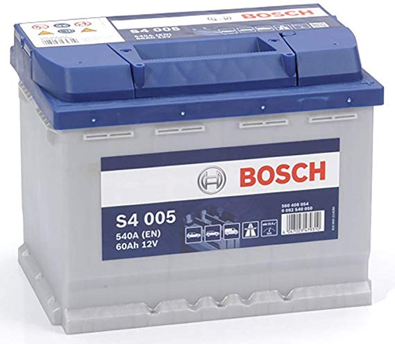 Bosch S4005 Autobatterie Starter 60Ah 12V 540A