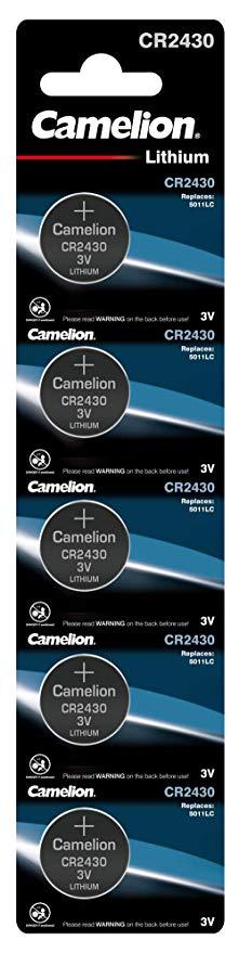 Camelion 13005430 Lithium Knopfzelle CR2430