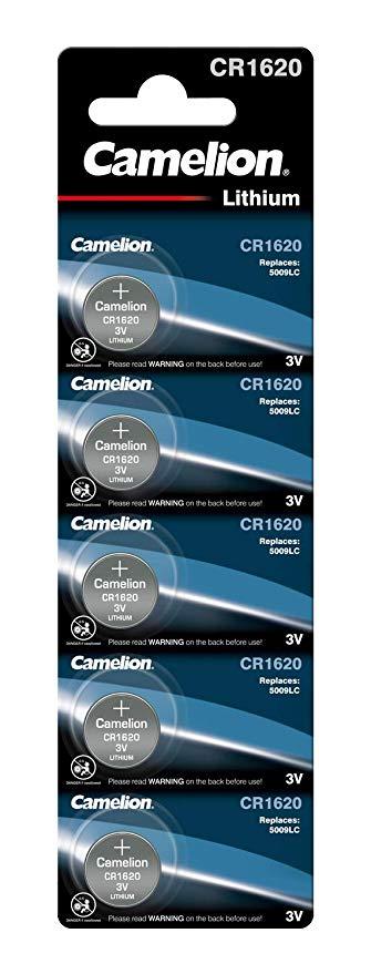 Camelion 13005620 Lithium Knopfzelle CR1620