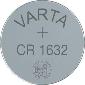 CR 1632 Knopfzellen