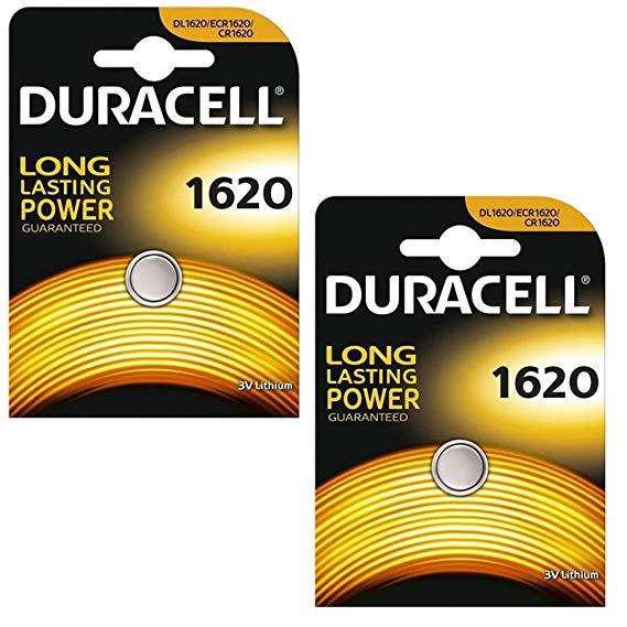 Duracell DL1620 2er-Pack Lithium Batterie