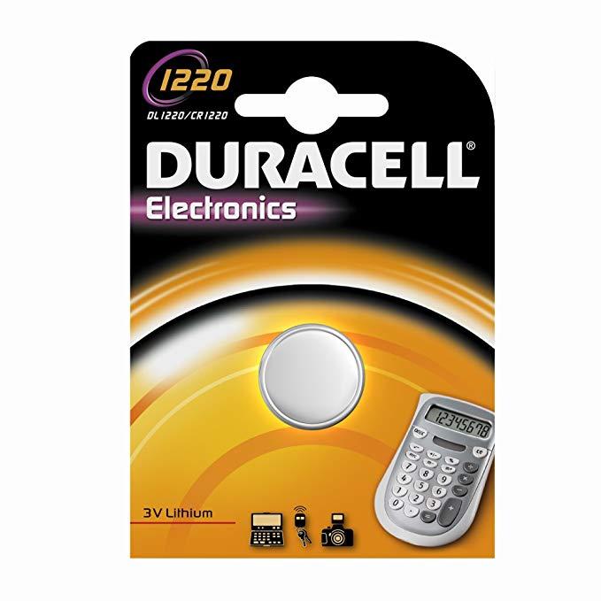 Duracell Lithium Knopfzellen - CR 1220